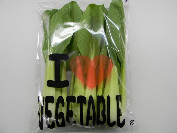 I LOVE VEGETABLE袋   2011年1月5日新発売!!