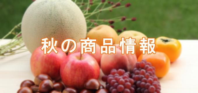 2015秋の商品情報