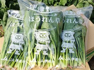 「オーラパック別注品」を導入されて(伊達市農業協同組合様)