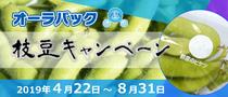 オーラパック枝豆キャンペーン2019