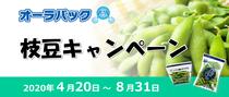 オーラパック枝豆キャンペーン2020