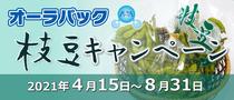 オーラパック枝豆キャンペーン2021